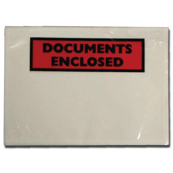 Tenza DL Documents Enclosed Labels [Pack 1000 ] PLE-DOC-DL