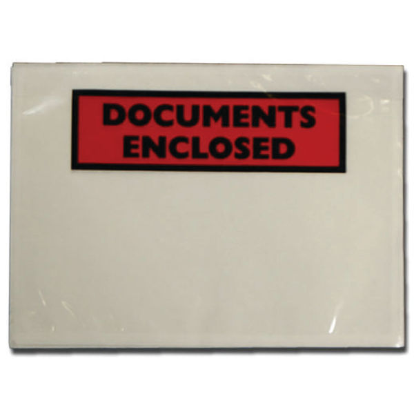 Tenza Documents Enclosed A7 A72/100 (Pack of 100) PLE-DOC-A7-1
