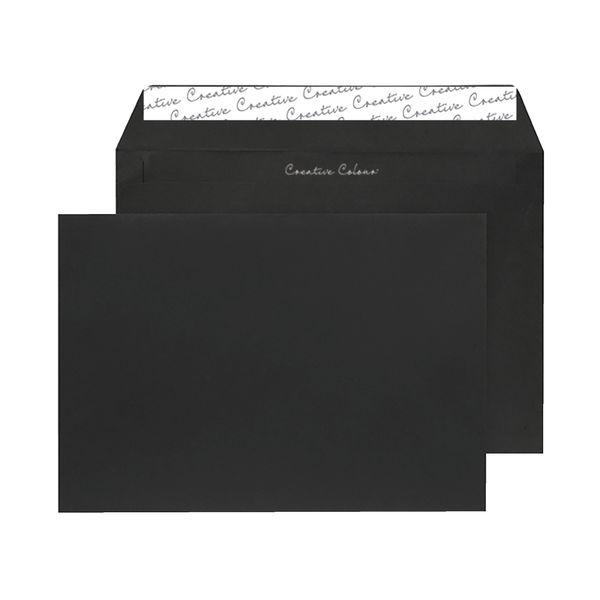 Blake C5 Envelopes Peel and Seal 120g Black [250 Pack] BLK93027