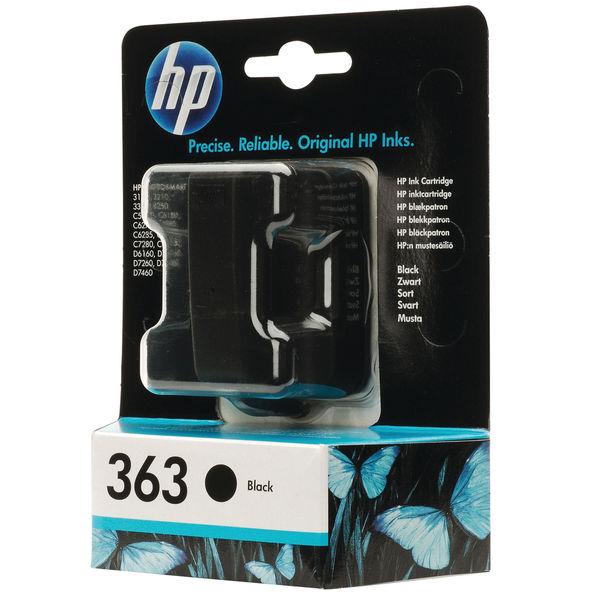 HP 363 Black Ink Cartridge | C8721EE