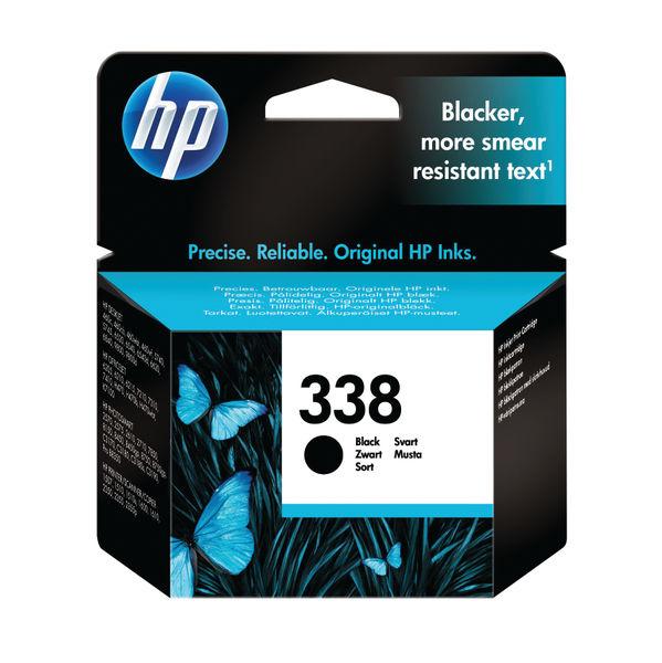 HP 338 Black Inkjet Cartridge 11ml | C8765E