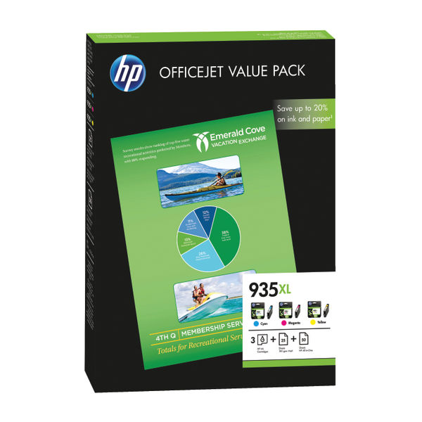 HP 935XL Officejet Value Pack | F6U78AE