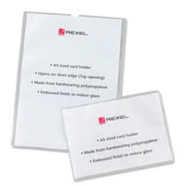 Rexel A4 Card Holder [Pack of 25] 12092