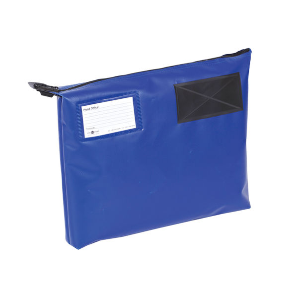 Gosecure Mail Pouch 381 x 336 x 76mm Blue | VAL06769