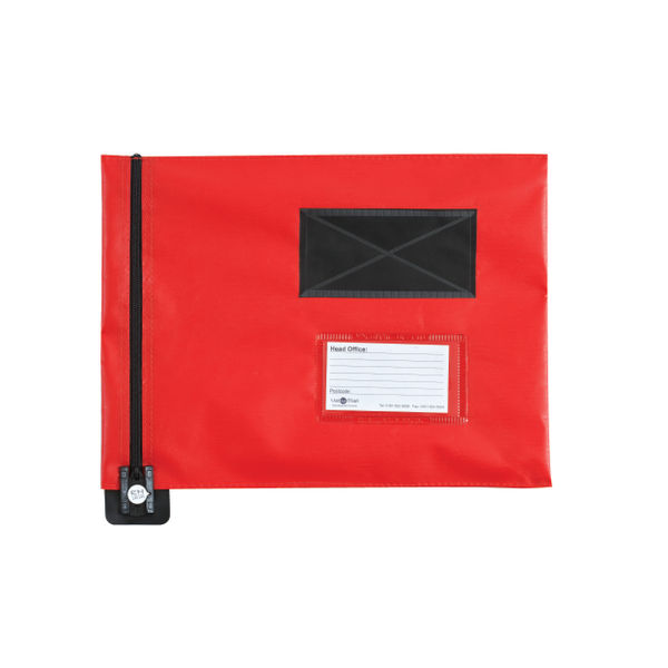Gosecure Flat Mail Pouch Red | FP7R