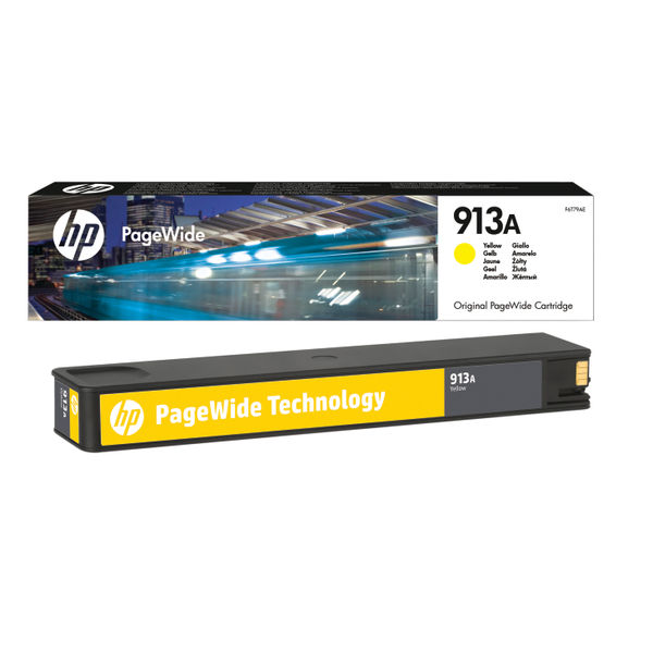 HP 913A Yellow Ink Cartridge | F6T79AE