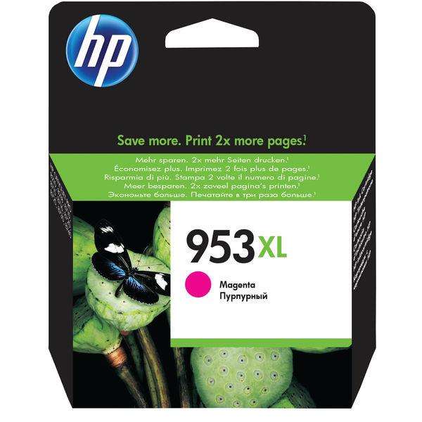 HP 953XL High Capacity Magenta Ink Cartridge | F6U17AE