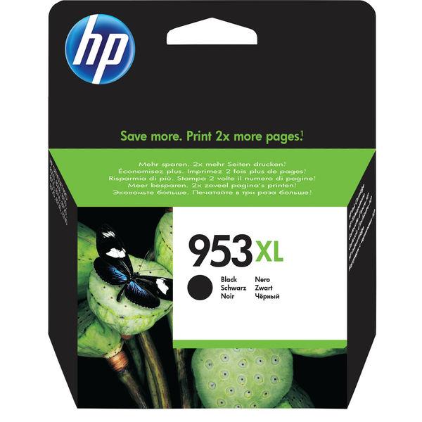 HP 953XL High Capacity Black Ink Cartridge | L0S70AE