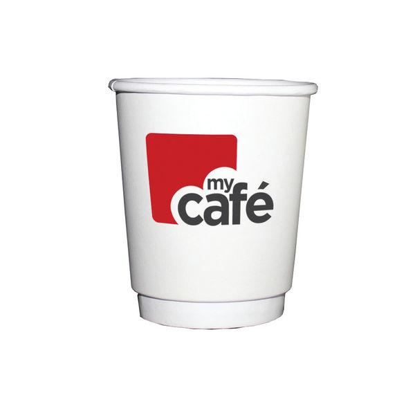 MyCafé 8oz Double Wall Hot Cups, Pack of 500 | MYC77610