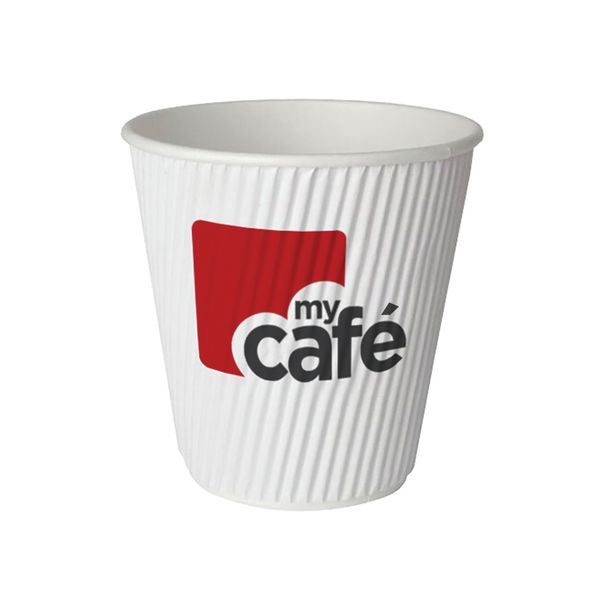 MyCafé 12oz Ripple Wall Hot Cups, Pack of 500 | MYC77613