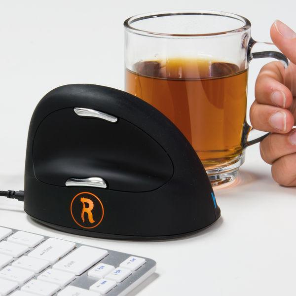 R-GO HE Break Ergonomic Mouse Large Right Hand Wired RGOBRHEMLR