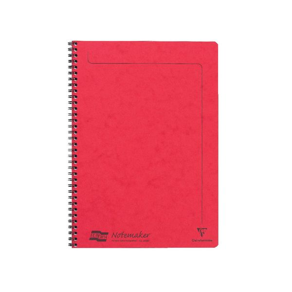 Clairefontaine Assorted A A4 Europa Notemakers, Pack of 10 - 4860