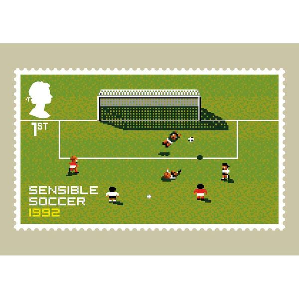 The Video Games Stamp Card Pack