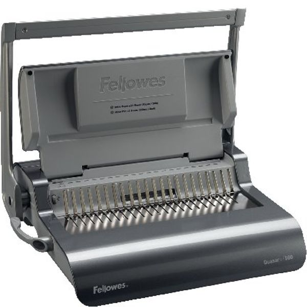 Fellowes Quasar+ 500 Manual Comb Binding Machine - 5627706