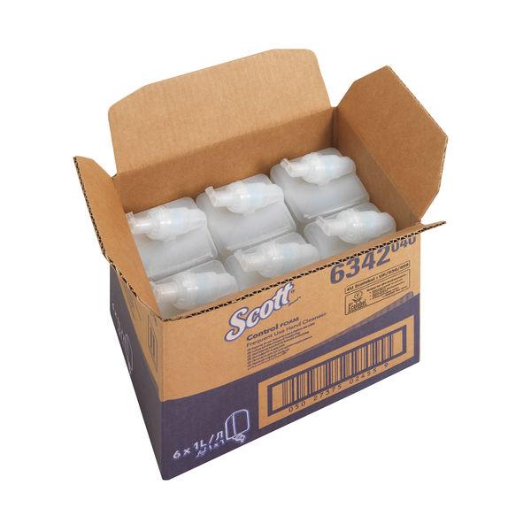 Kleenex Fragrance Free Hand Soap Refill 1 Litre (Pack of 6) 6342