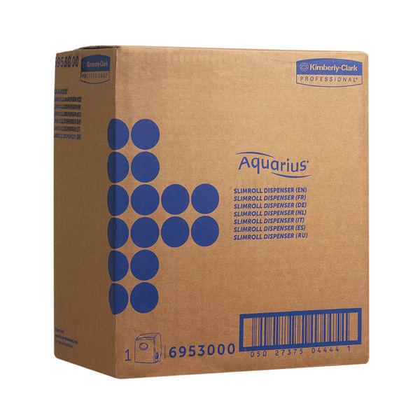 Aquarius White Slimroll Hand Towel Dispenser (Dispenser for Scott Slimroll Hand Towels) 6953