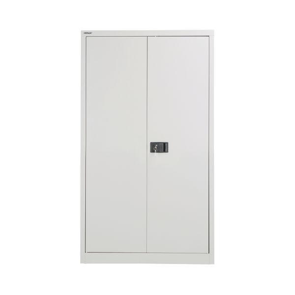 Jemini 1806mm Grey 2 Door Storage Cupboard