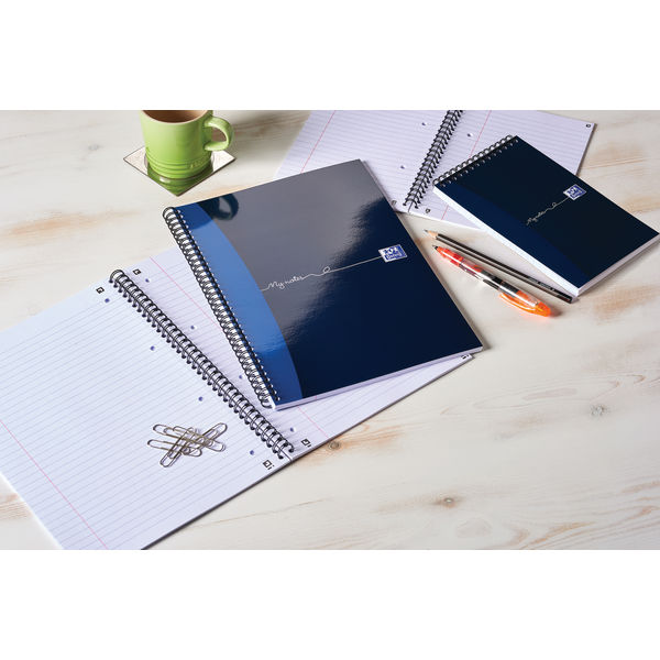 Oxford 125 x 200mm My Notes Reporter Notebooks, Pack of 10 - 100080496