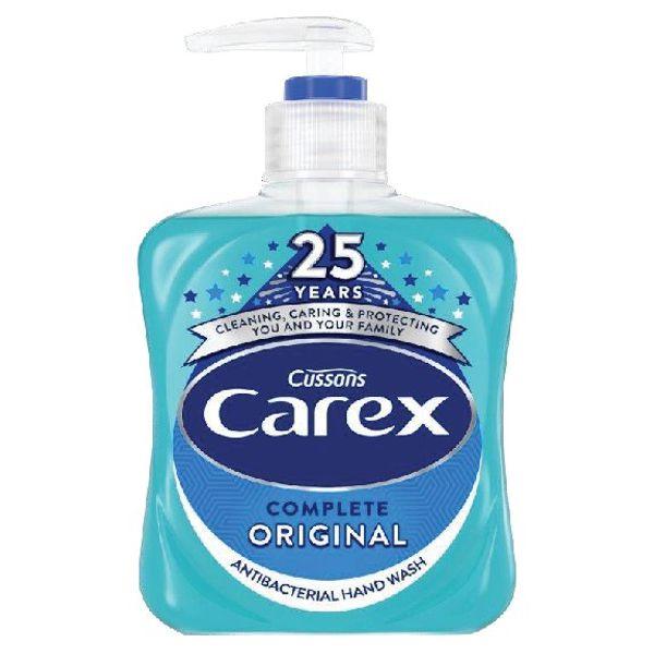 Carex 250ml Original Liquid Soap, Pack of 6 - KJEYS2502/6