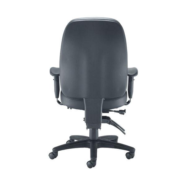 Avior Snowdon Black Heavy Duty Office Chair