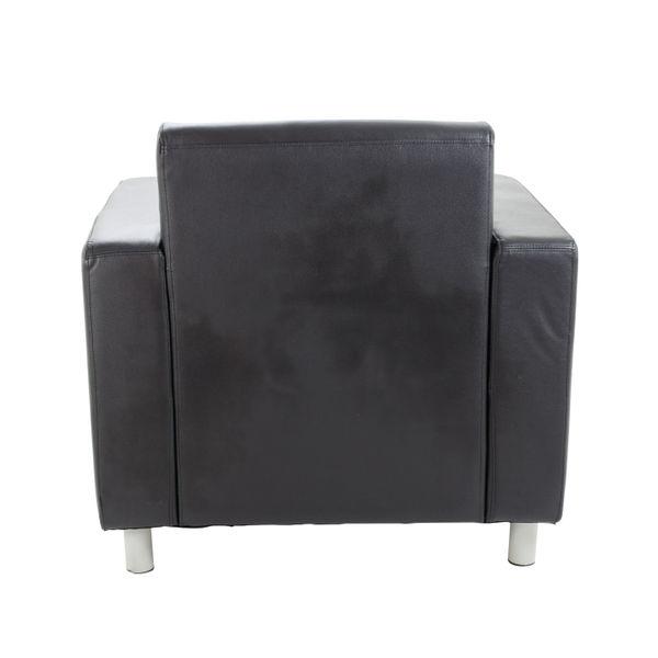 Avior Black Executive Reception Arm Chair