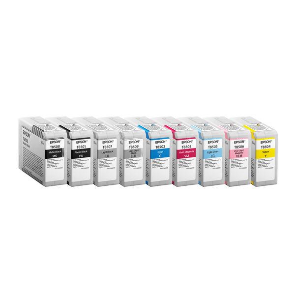 Epson T8502 Cyan Ink Cartridge - C13T850200