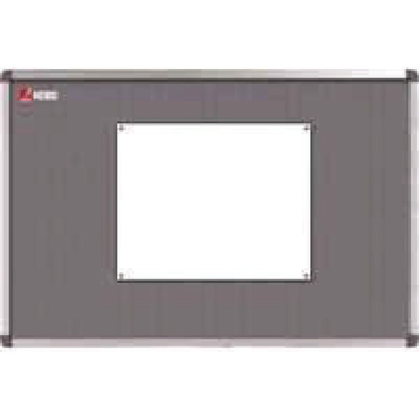 Nobo Classic Felt Notice Board, 1800 x 1200mm, Grey - NB14600