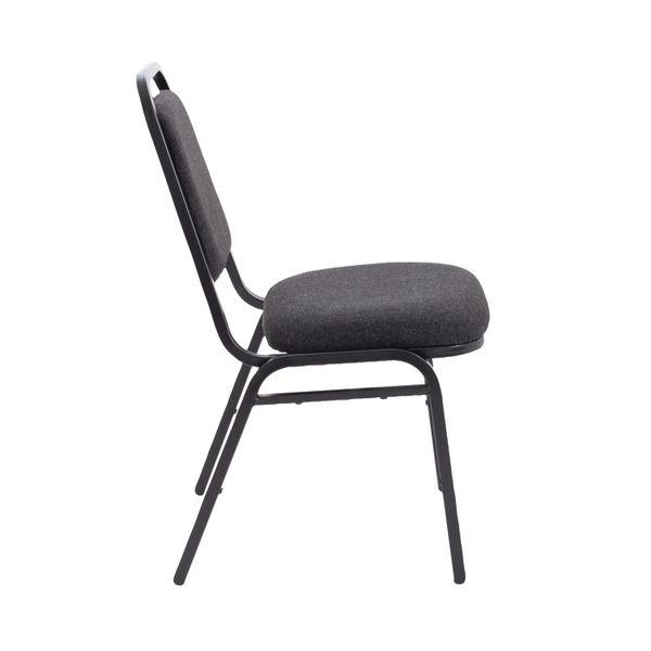 Arista Charcoal/Black Banqueting Chair