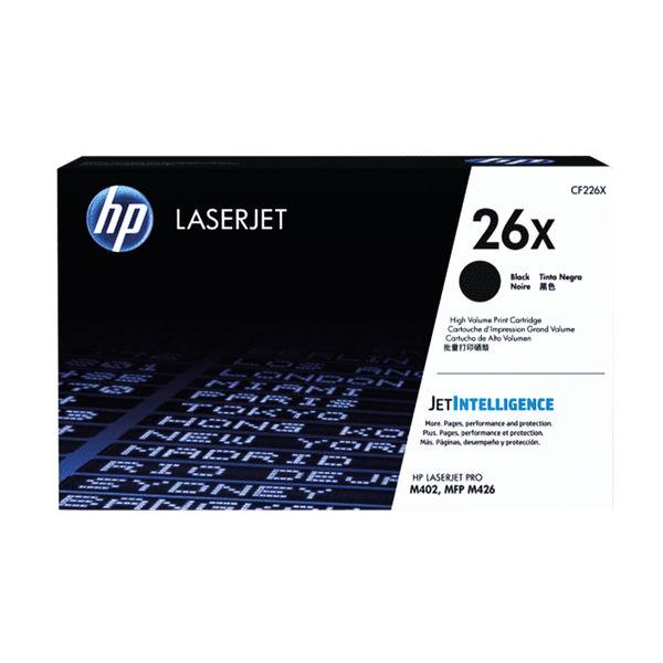 HP 26X High Capacity Black Toner Cartridge | CF226X