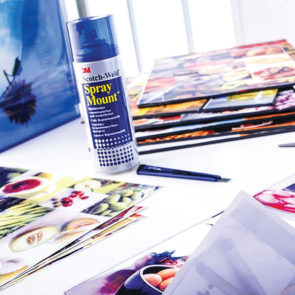 3M SprayMount 400ml Repositionable Adhesive - SMOUNT