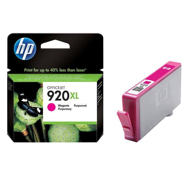 HP 920XL Magenta High Yield Ink Cartridge | CD973AE
