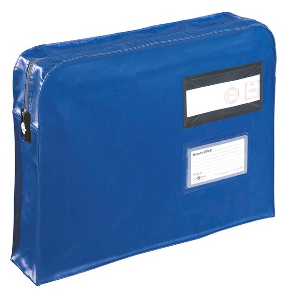 Gosecure Gusset Mailing Pouch 457 x 330 x 76mm Blue | VP99671