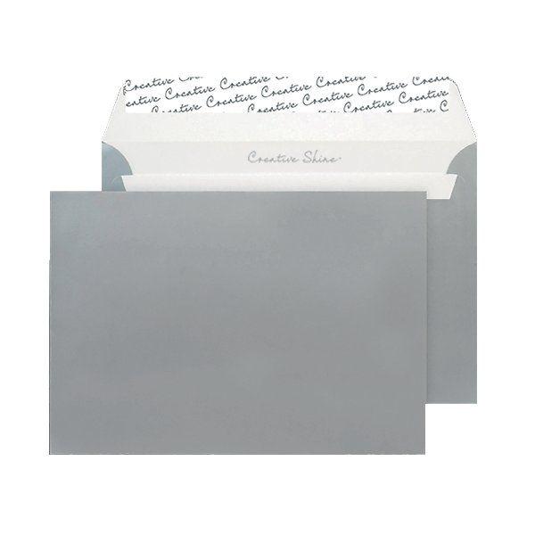 Blake C5 Envelopes Peel/Seal 130g [Pack of 250] Silver 312 BLK93028