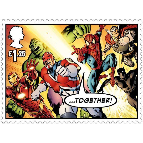 The Marvel Miniature Sheet - MZ138