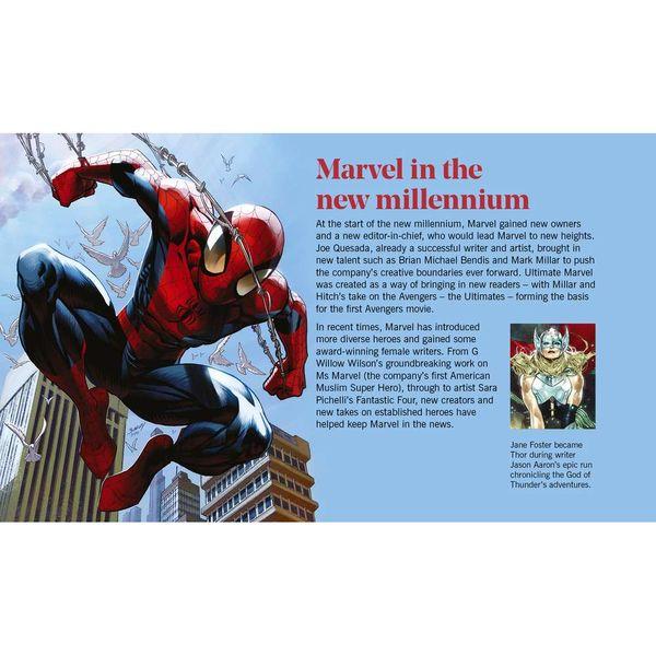 The Marvel Prestige Stamp Book - YB082