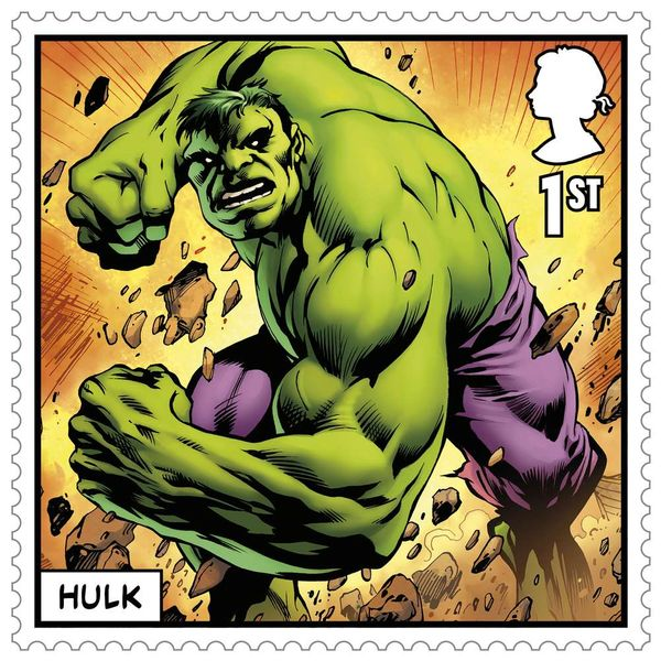 1st Class Stamps x 6 Pack - (Postage Stamp Book) - Marvel - UB421