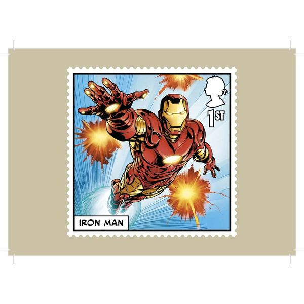 The Marvel Stamp Card Pack - AQ274