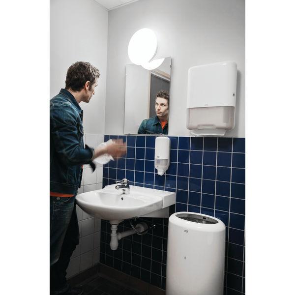 Tork H3 White Singlefold 1-Ply Hand Towels, Pack of 15 - 290158