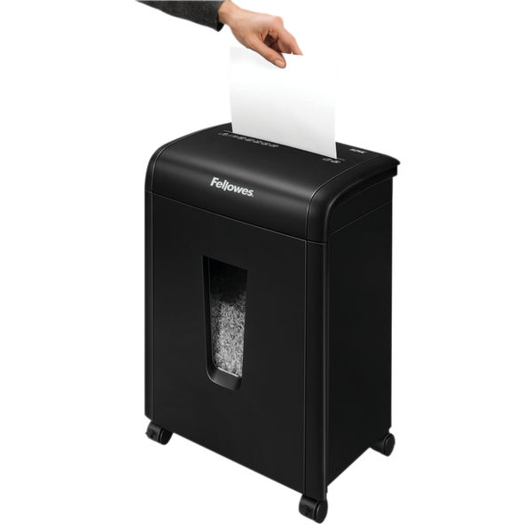 Fellowes PowerShred 62Mc Micro Cut Shredder with Safety Lock