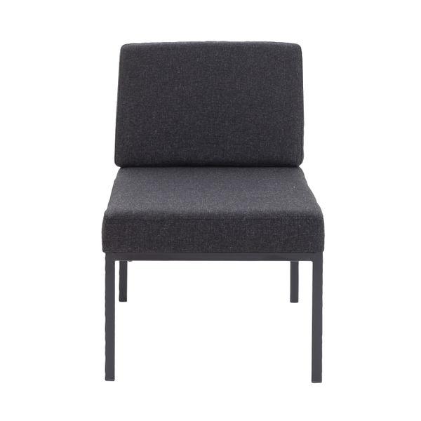 Jemini Charcoal Reception Chair
