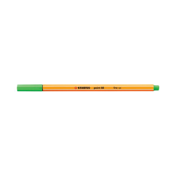 STABILO Assorted Point 88 Fineliner Pens, Pack of 20 - 8820-03
