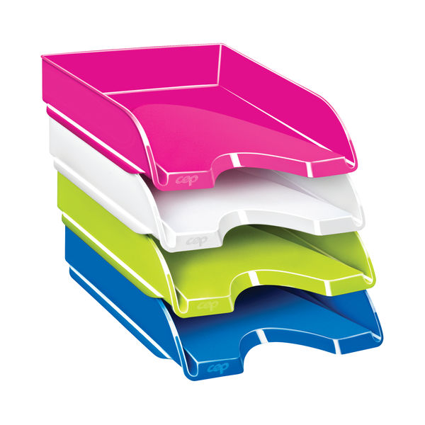 CEP Pro Gloss Letter Tray Green 200GGREEN