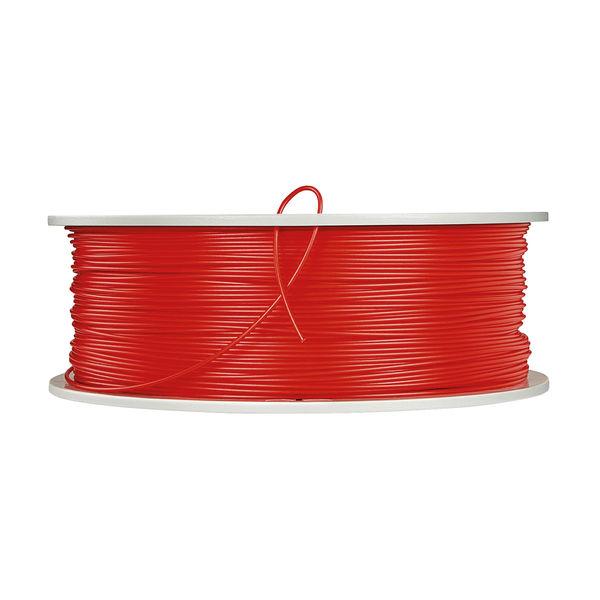 Verbatim Red 1.75mm PLA 3D Printing Filament, 1kg Reel - 55320
