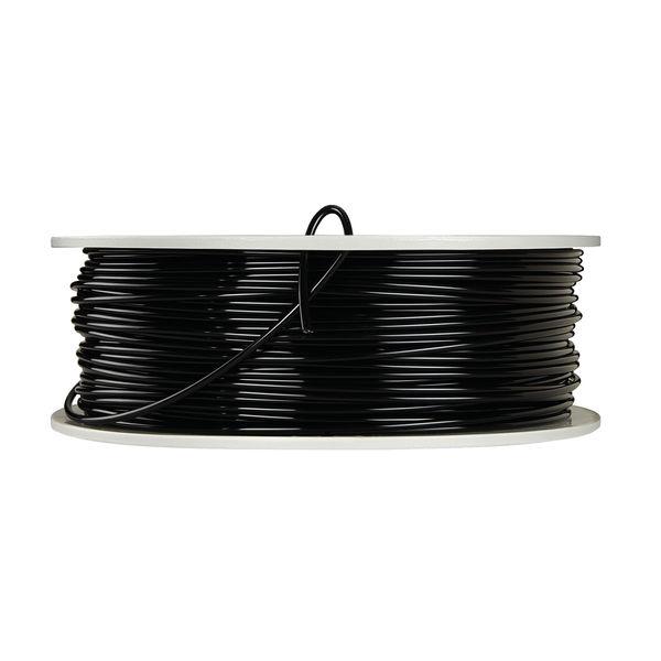 Verbatim Black 2.85mm PLA 3D Printing Filament, 1kg Reel - 55327