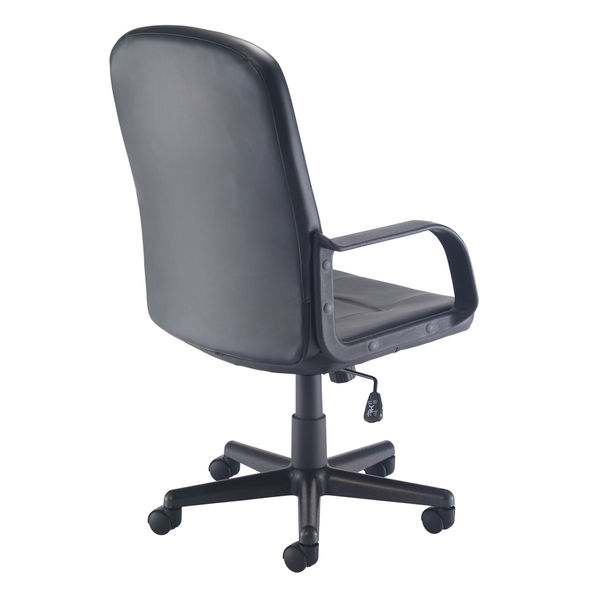 Jemini Jack 2 Black PU Executive Office Chair
