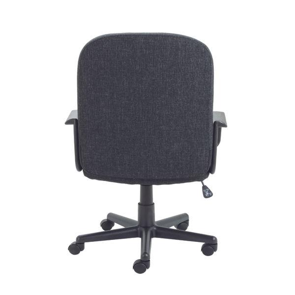 Jemini Jack 2 Charcoal Fabric Executive Office Chair