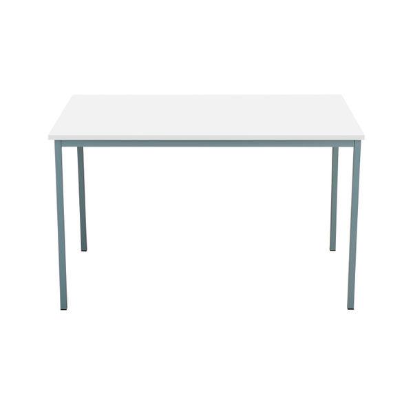 Serrion 1200mm White 4 Leg Rectangular Desk
