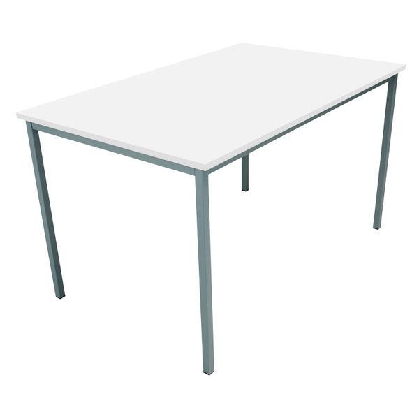 Serrion 1500mm White 4 Leg Rectangular Desk