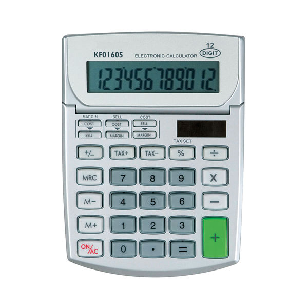 Semi-Desktop Calculator 12-Digit