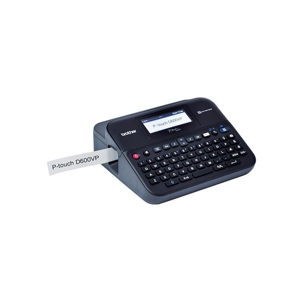 Brother PT-D600VP Professional Desktop Label Printer
